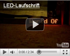 Video LED-Laufschrift